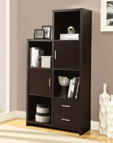 2533 Cappuccino Left Or Right Facing Storage Unit