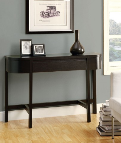 "2546 Cappuccino 48"" Accent Console Table"