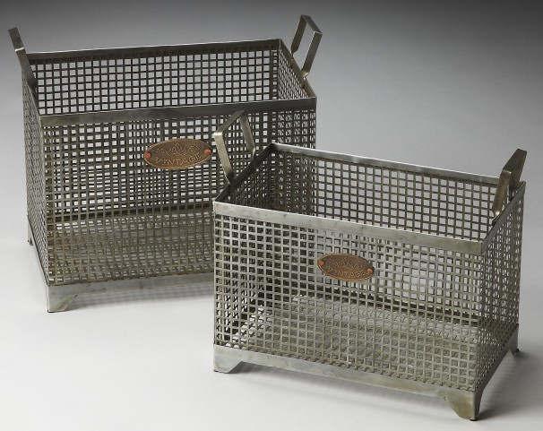 Rowley Hors D'Oeuvres Storage Basket Set