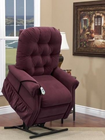 Aaron Berry Tall Tufted Three Way Reclining Lift Chair