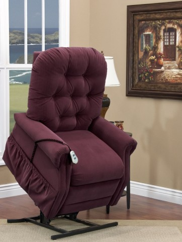 Aaron Berry Tufted Two Way Reclining Lift Chair