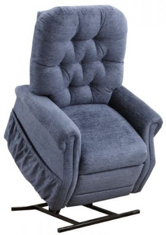 Encounter Blue Tufted Two Way Reclining Lift Chair