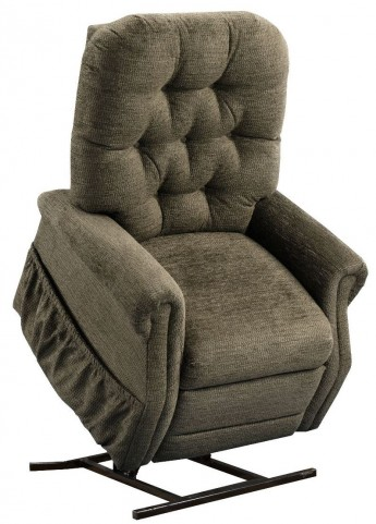 Encounter Mushroom Tufted Two Way Reclining Lift Chair