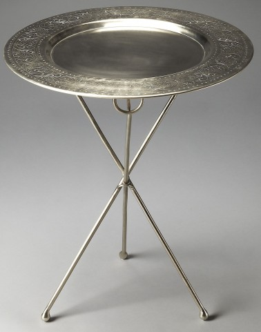 Dahlia Metalworks Accent Table