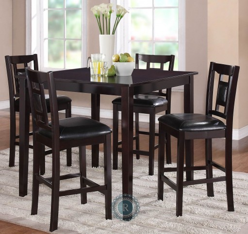 Tristan 5-Piece Pack Counter Height Set