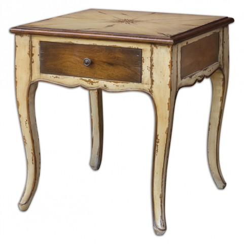 Ruggerio Wooden End Table