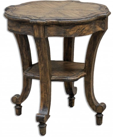 Matahari Aged Accent Table