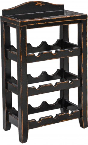 Halton Wine Rack Table