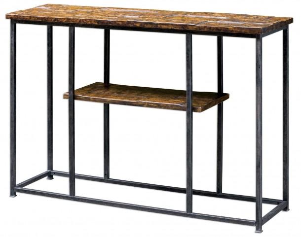Ania Aged Console Table