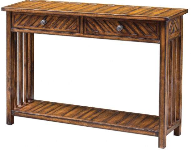 Bartek Wood Console Table