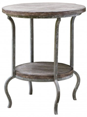 Marcin Round Accent Table
