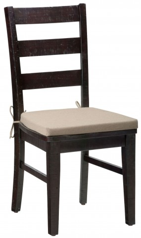 Prospect Creek Pine Three Rung Ladderback Chair Set of 2