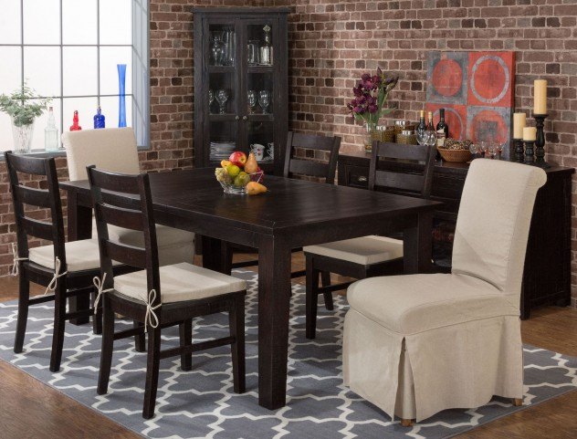 Prospect Creek Extendable Rectangular Dining Room Set
