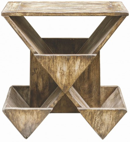 Enzo Geometric Accent Table