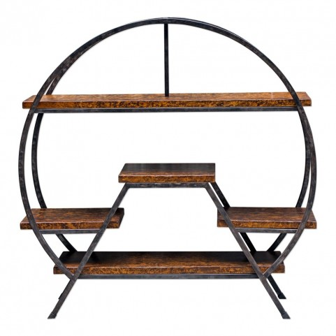 Ayoka Forged Iron Etagere