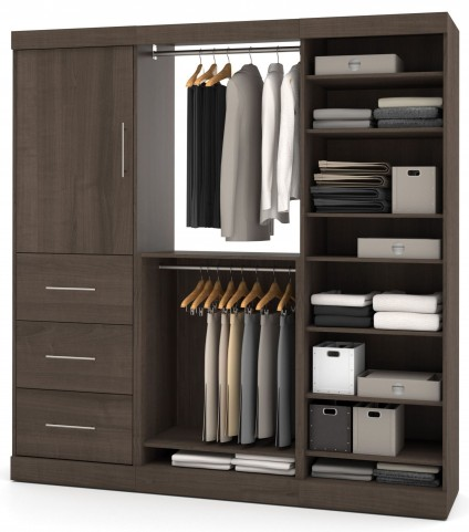 Nebula Antigua 80'' Storage Wardrobe