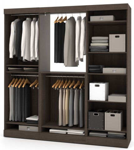 Nebula Antigua 80'' Extra Storage Wardrobe