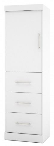 "Nebula White 25"" Office Storage Set"