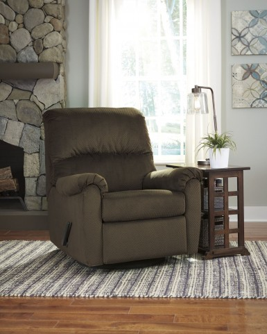 Bronwyn Brown Swivel Glider Recliner