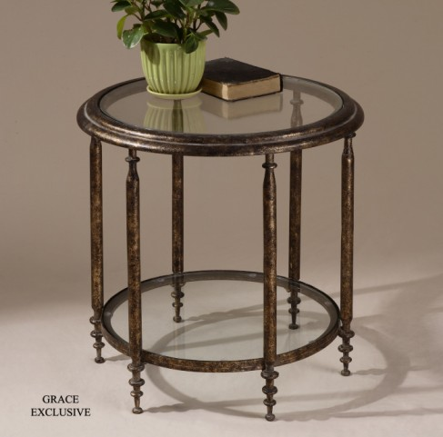 Leilani Round Accent Table