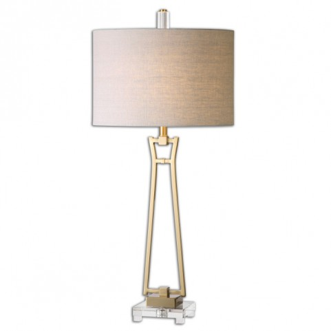 Leonidas Gold Table Lamp
