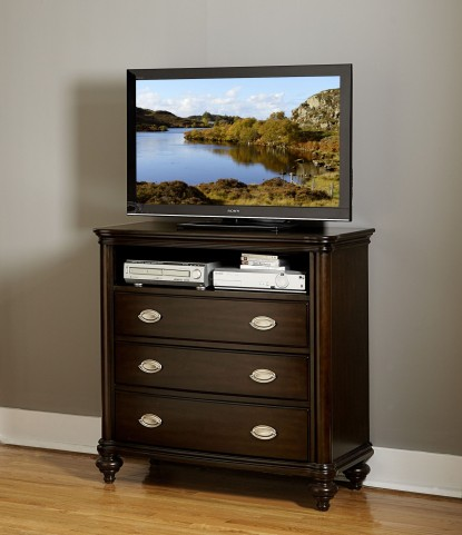 Marston Dark Cherry Tv Chest