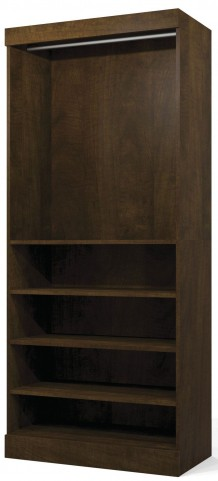 "Pur Chocolate 36"" Open Storage Unit"