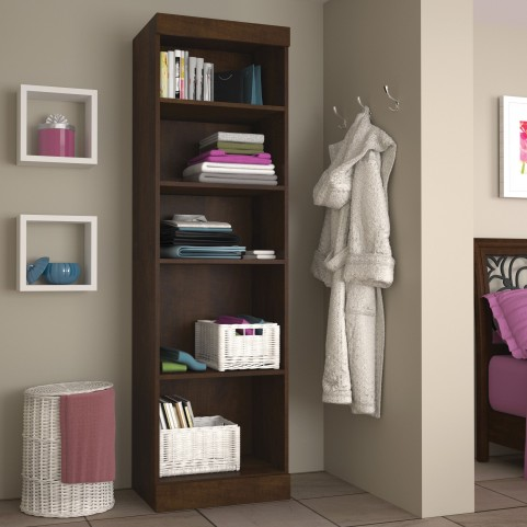 "Pur Chocolate 25"" Open Storage Unit"
