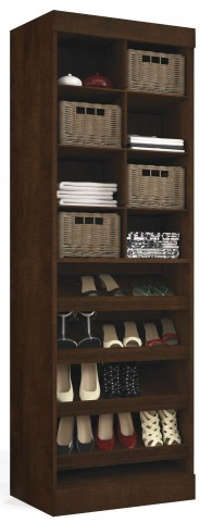 "Pur Chocolate 25"" Cubby Multi-Storage Unit"