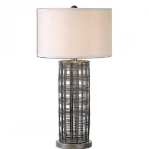 Engel Metal Wire Lamp