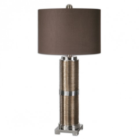 Colobert Copper Bronze Lamp