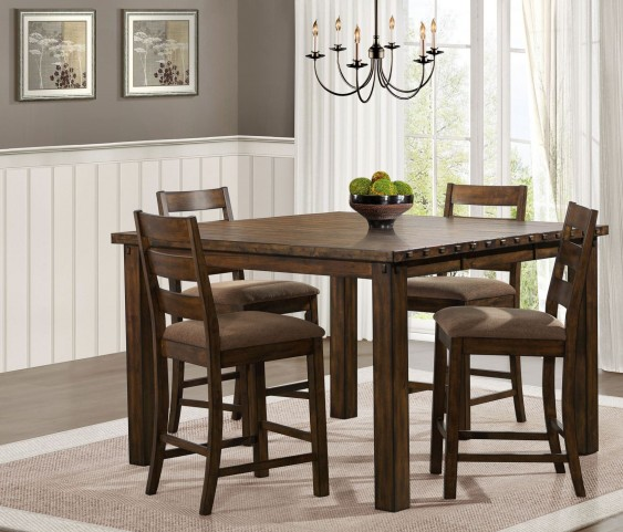 Ronan Extendable Counter Height Dining Room Set