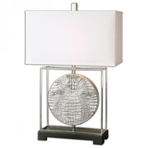 Taratoare Polished Nickel Lamp