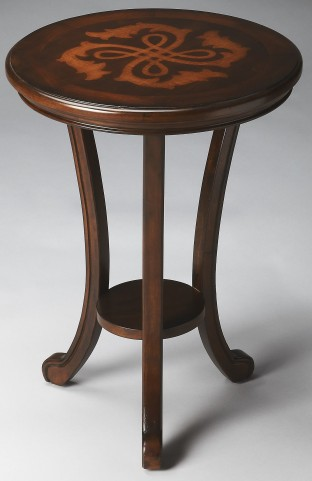 Yates Plantation Cherry Accent Table
