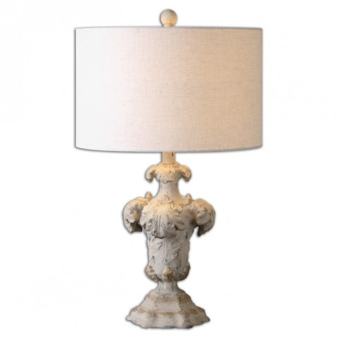 Cassano Antique Ivory Table Lamp