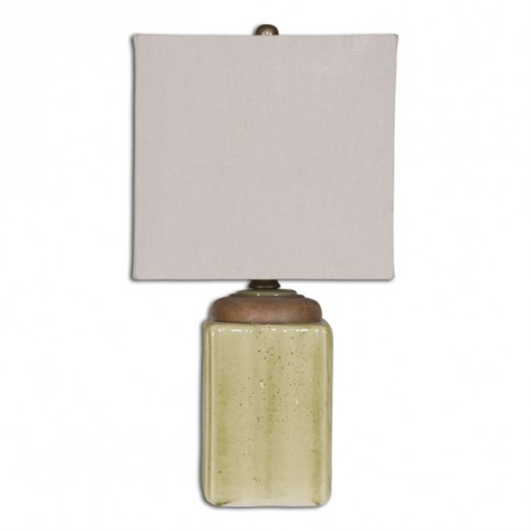 Kildare Green Ceramic Table Lamp