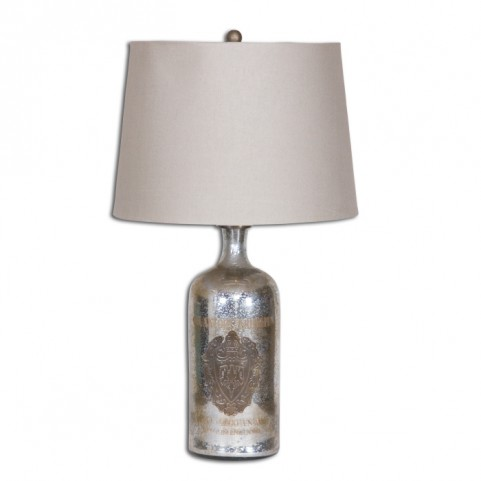 Borel Antique Glass Table Lamp