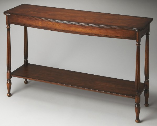 Bennett Masterpiece Antique Cherry Console Table
