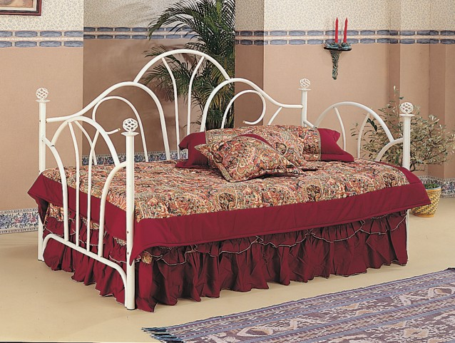 Vine Twin Metal Day Bed - 2624