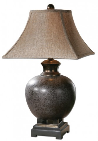 Villaga Distressed Table Lamp