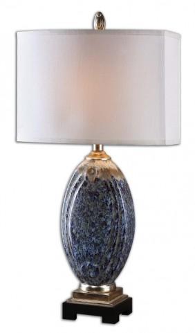 Blue Latah Lamp