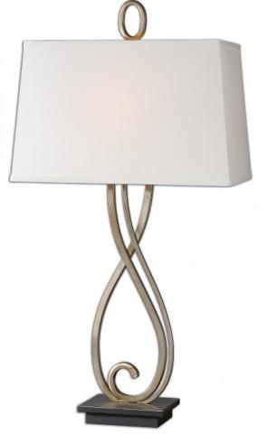 Ferndale Scroll Metal Lamp