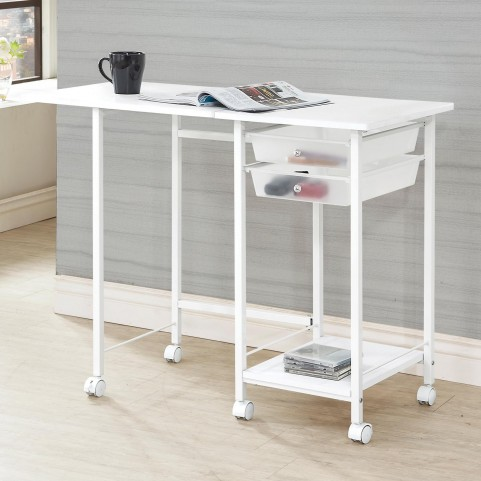 800430 Folding Desk with Casters