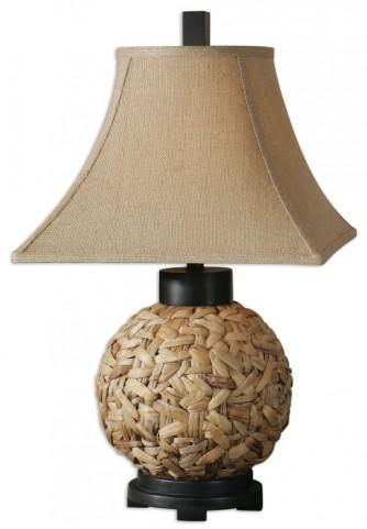 Calameae Rattan Lamp