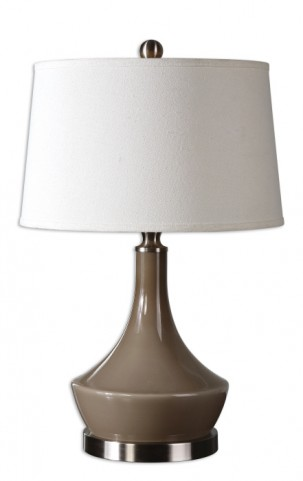 Kerman Warm Gray Lamp