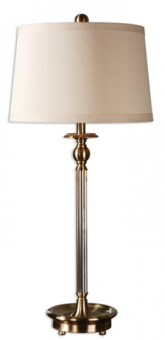 Vairano Fluted Glass Lamp