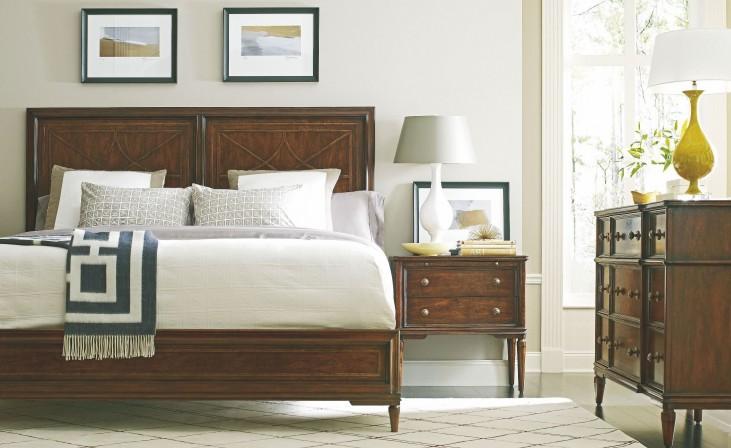 Vintage Wood Bedroom Set
