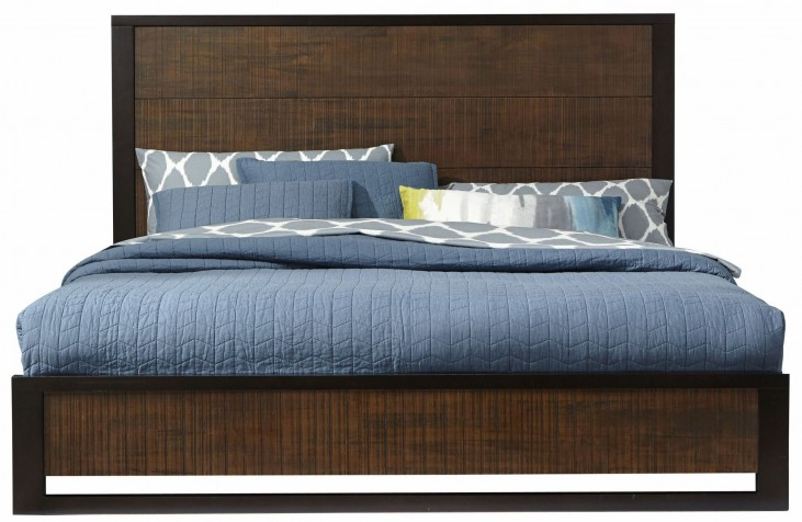 Axel King Platform Bed