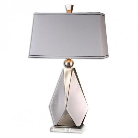 Taburno Brushed Nickel Table Lamp