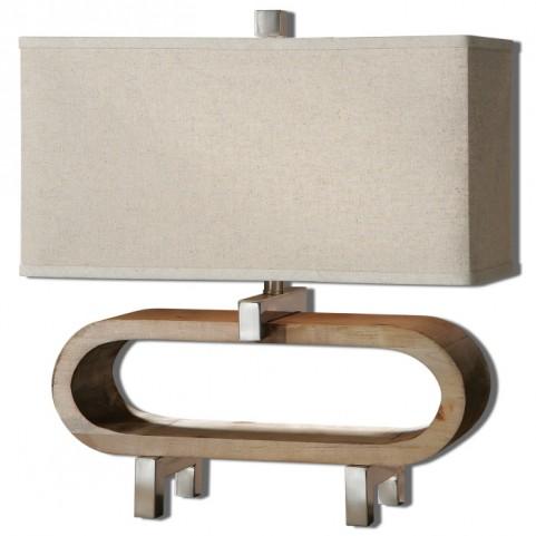 Medea Wood Accent Lamp